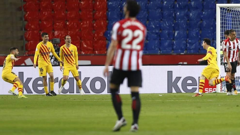 """""""Messi está bien aquí, pero no está en nuestras manos"""""""