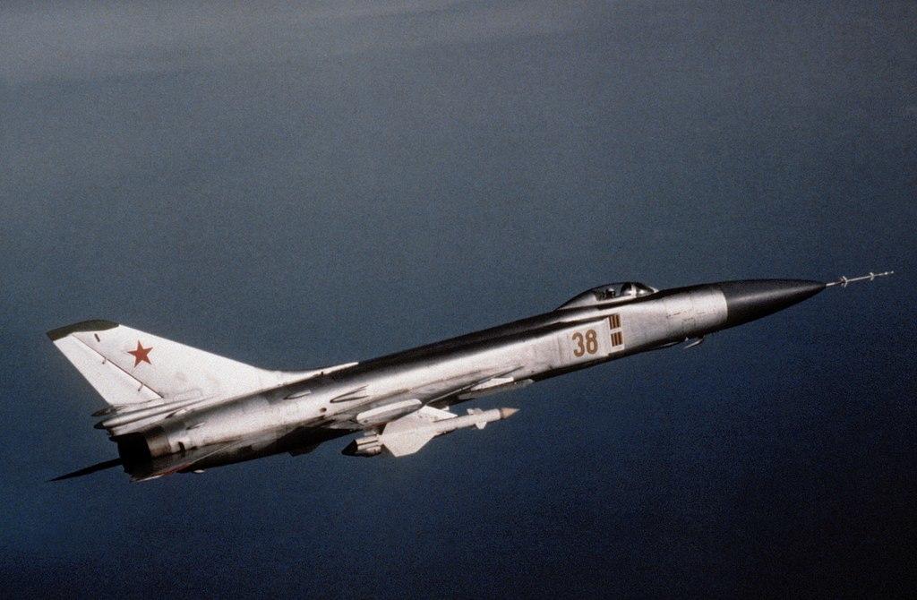 Sukhoi Su-15 'Flagon', el avión que derribó el Vuelo 007