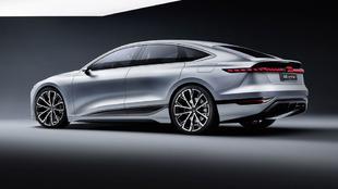 Audi A6 e-tron concept.