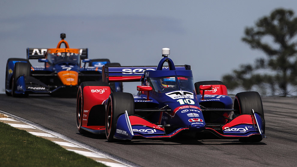 Álex Palou carrera Indycar Barber