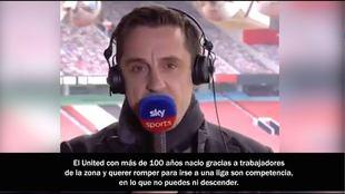 """""""Estoy asqueado con el United, con el Liverpool que vende el 'nunca caminarás solo'..."""""""