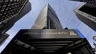Entrada del edificio de JP Morgan en New York