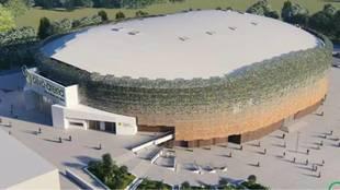 Panorámica del nuevo Olivo Arena