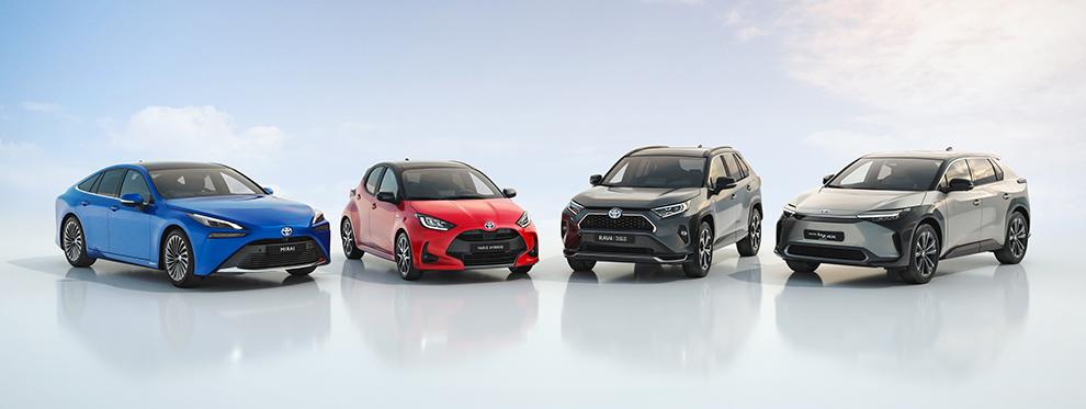 Toyota bZ4X SUV eléctrico