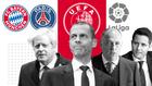 Boris Johnson, Ceferin, Tebas, Herrera, el Bayern de Múnich... la...