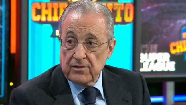 "Florentino Pérez, en directo: ""Hemos perdido 400 millones"""
