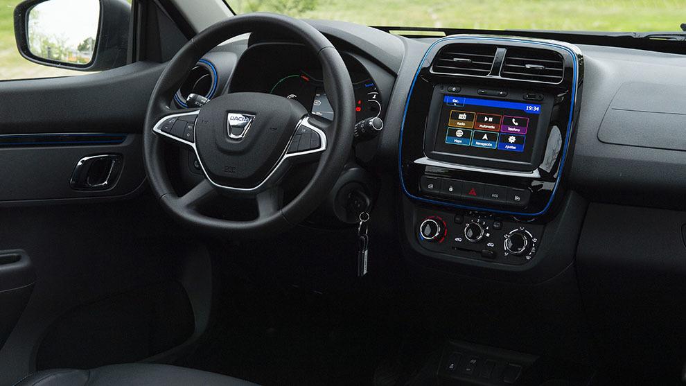 Dacia Spring eléctrico 2021 prueba