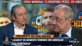 "Florentino: ""¿Ramos? Me voy..."""