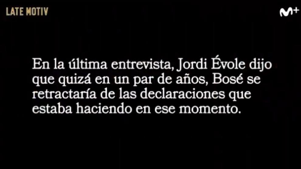 Raul Pérez - Andreu Buenafuente - Late Motiv - Movistar+ - Jordi Evole - Miguel Bose