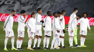 El equipo del Madrid que ganó al Getafe en el Di Stéfano