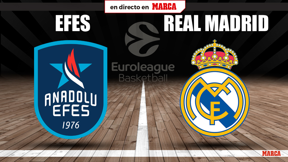 Anadolu Efes-Real Madrid, en directo
