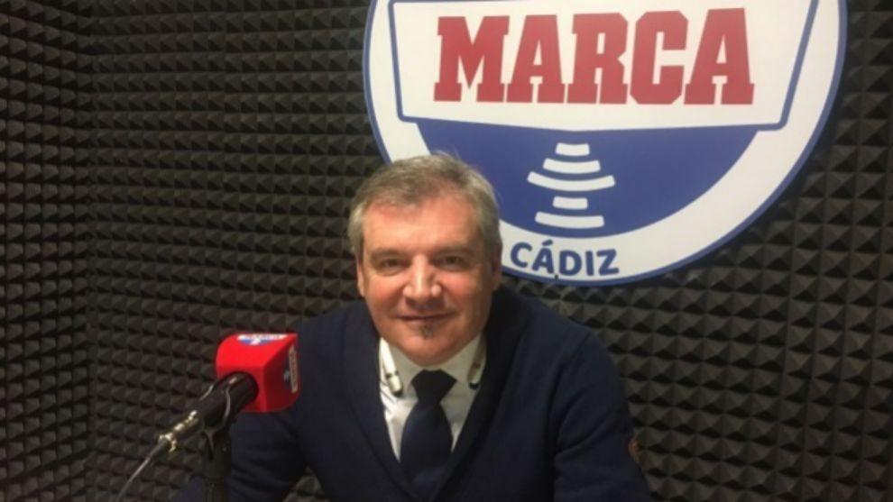 Manolo Vizcaíno, en Radio MARCA.