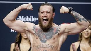 La estrella de la UFC Conor McGregor.