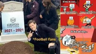 Los memes del fracaso de la Superliga