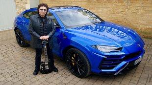 Tony Iommi - Black Sabbath - Lamborghini Urus - Heavy metal