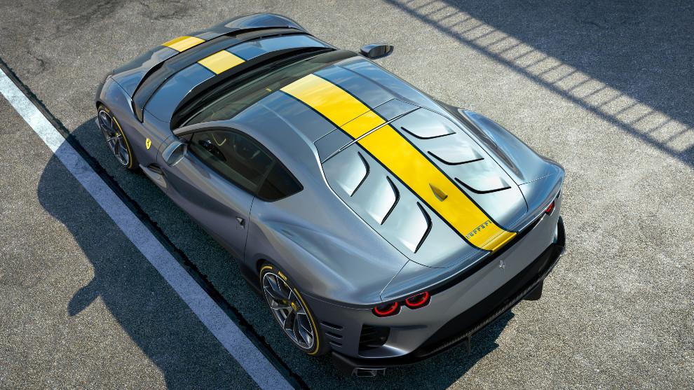 Ferrari esconde el nombre de su V12 más salvaje