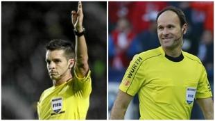 Del Cerro Grande y Mateu Lahoz, entre los árbitros de la Eurocopa