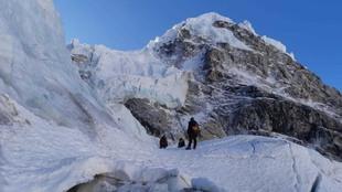 El Everest, la montaña más alta de la Tierra.