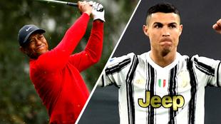 Tiger Woods superaría a Cristiano Ronaldo y sería el primer deportista en ganar $1.000 millones de dólares