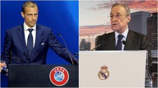 """Ceferin amenaza: """"Hay una posibilidad realmente pequeña de que no se juegue el Real Madrid-Chelsea"""""""