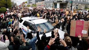 Manifestación en Ohio por la muerte de Ma'Khia Bryant