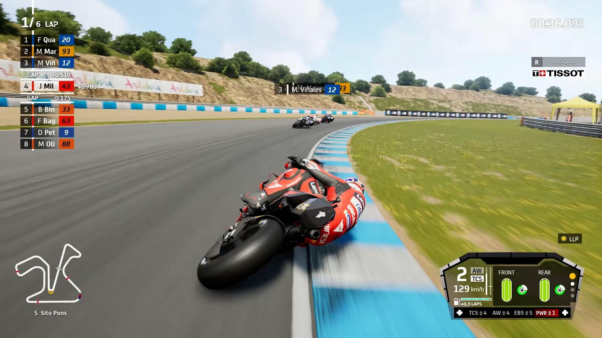 Gameplay MotoGP21