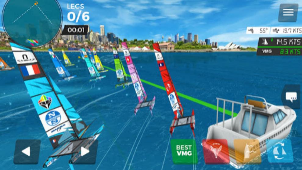Virtual Regatta en Oympic Virtual Series