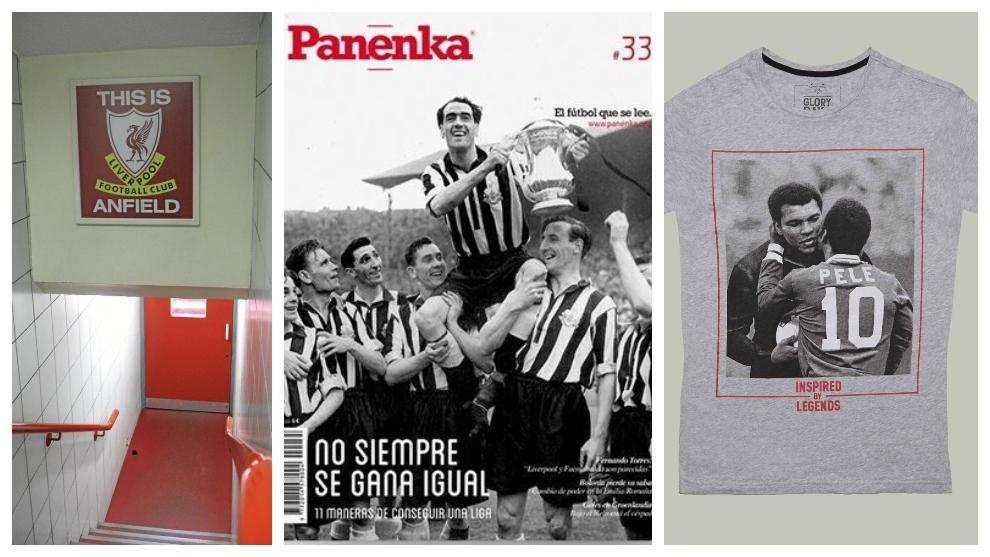 El túnel de Anfield, un número de Panenka y una camiseta de Coolligan