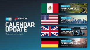 Calendario modificado de la Fórmula E: Puebla será sede.