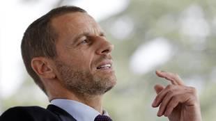 Ceferin criticizes Perez: 'President of nothing'