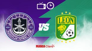Mazatlán FC vs León: Horario y dónde ver en vivo por TV.