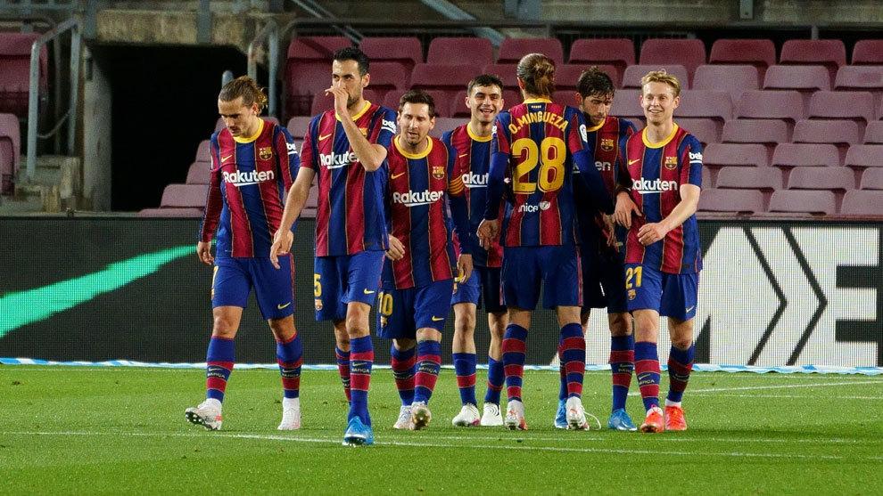 Getafe no match for Messi and Barcelona