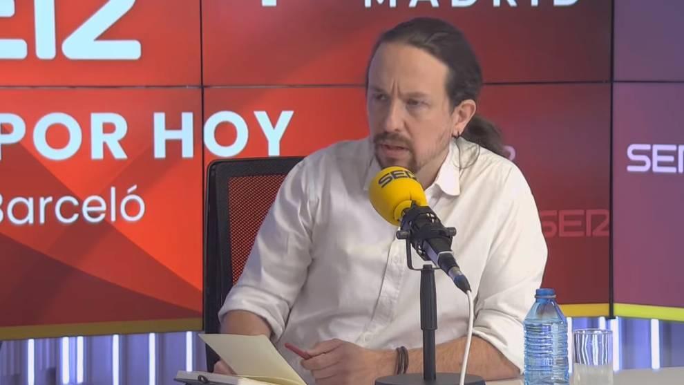 Pablo Iglesias, candidato de Unidas Podemos