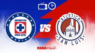 Cruz Azul vs Atlético San Luis: hora, fecha y canales de TV para ver...