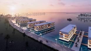 Qatar 2022 contará con hoteles flotantes.