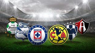 Liguilla del Clausura 2021, los cuatro clasificados.