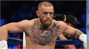 Conor McGregor, en una pelea.