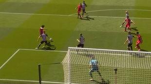 Salah se marca un golazo indefendible