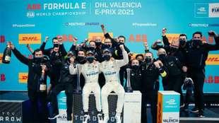 De Vries, gana la carrera de Valencia de la Fórmula E.
