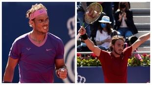 Nadal y Tsitsipas, finalistas
