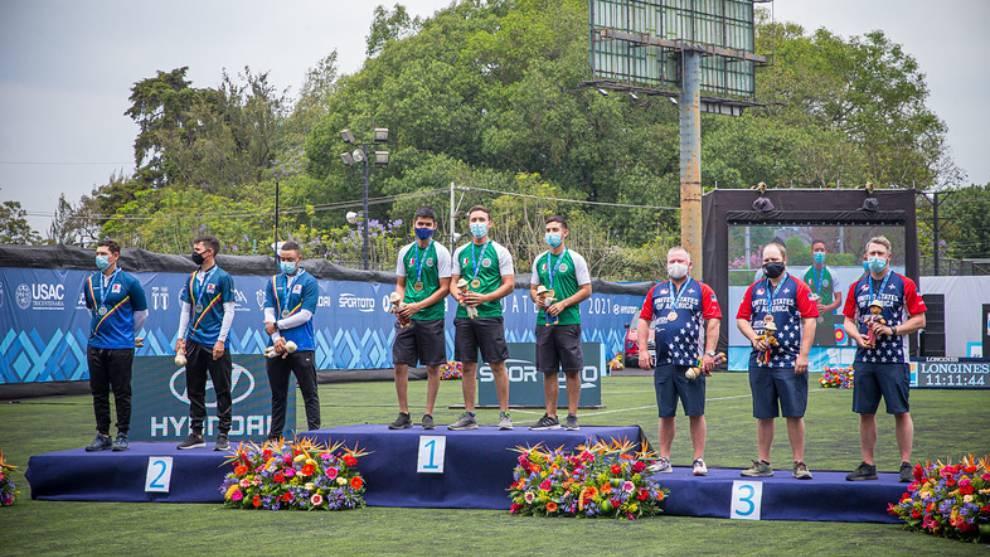 México ganó oro por equipos varonil en el arco compuesto   World Archery
