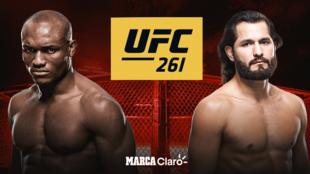 UFC 261 en vivo Kamaru Usman vs Jorge Masvidal 2 en directo: resultado...