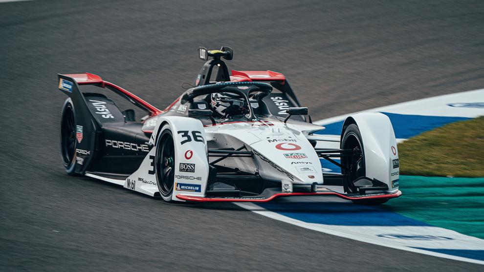 Andre Lotterer Porsche E-Prix Valencia