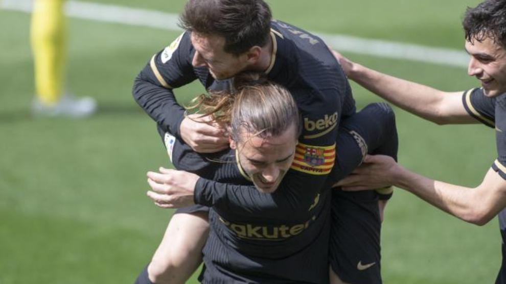 El Barça se agarra a LaLiga a lomos de Griezmann