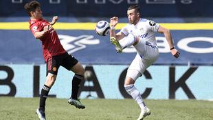 El Leeds y el Manchester United dividieron puntos.