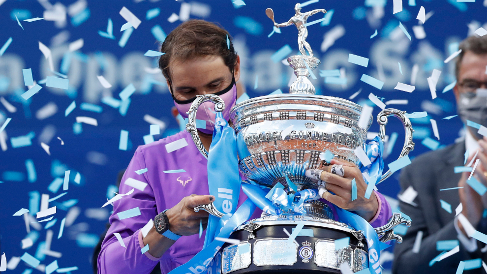 Nadal gana su primer torneo del 2021