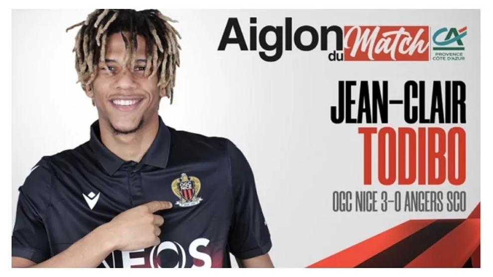 Jean Clair-Todibo, jugador del Niza.
