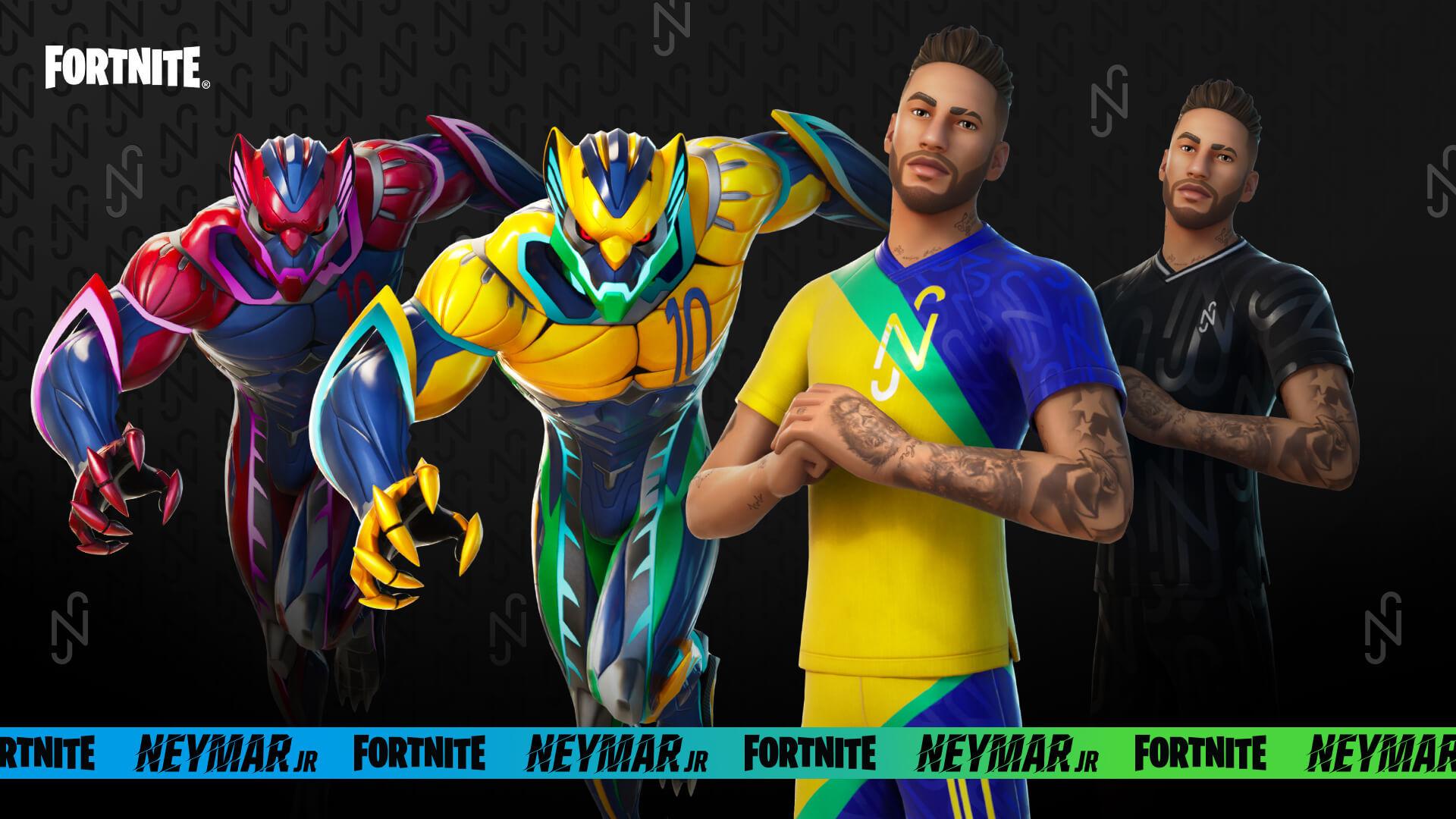 Las skins alternativas de Neymar