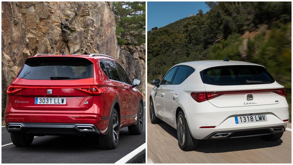 El León TGI recorre 440 km con GNC y el Tarraco e-Hybrid tiene una autonomía eléctrica de 49 km.