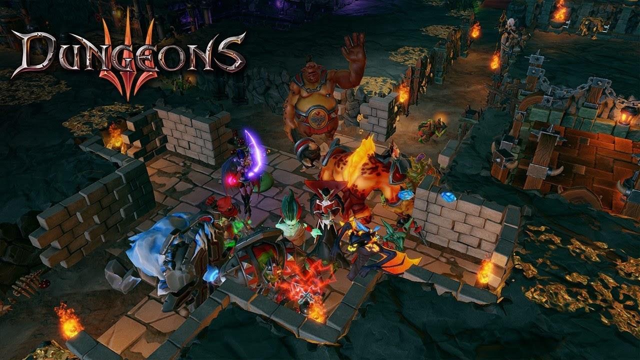 Dungeons 3, simulador de mazmorras